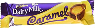 Cadbury Caramello Milk Chocolate & Creamy Caramel Bars - 18 / Box