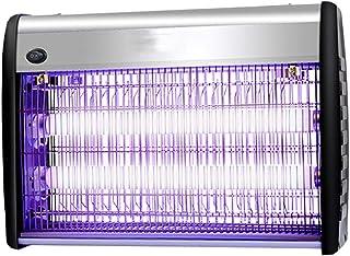 3W Lampara Antimosquitos Mosca Trampa Mosquito Asesino Luces, lámpara eléctrica Ultravioleta del Mosquito, for el Sitio del café del jardín de Cocina, montable en la Pared, colocándose