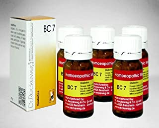 Dr.Reckeweg Germany Biochemic Combination Tablets Bc 07 Pack of 5