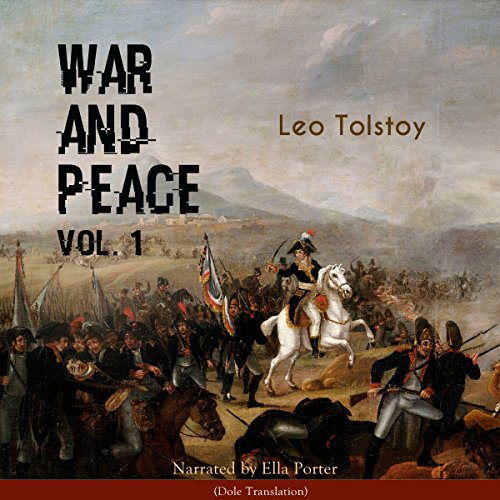 War and Peace 1 audiobook cover art