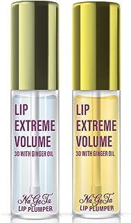 Lip Plumper Set, Natural Lip Enhancer & Lip Care Serum, Day & Night Care, Moisturized Clear Lip Oil, Lip Plumper Fuller & Hydrated Beauty Lips 2 Packs, Latorice