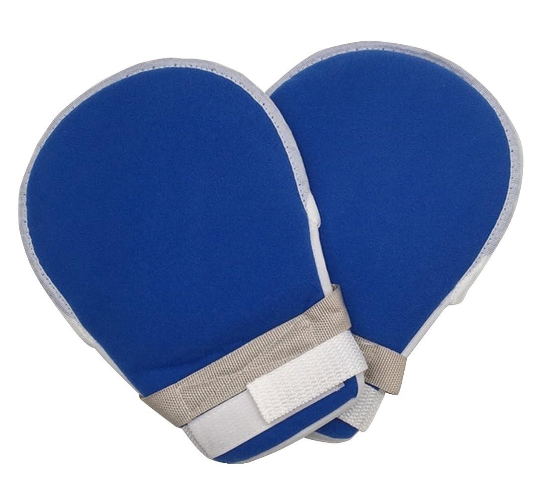 アプライアンスバーからに変化するZERONOWA 介護ミトン メッシュ素材 介護手袋 軽量 自傷 ひっかき 防止 (ひも付き2枚)