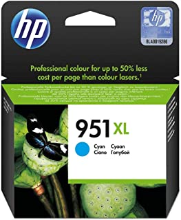 Hp 951xl Ink Cartridge - Cn046ae, High Yield Cyan