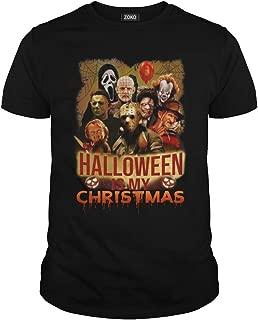 Zoko Apparel Halloween is My Christmas Horror Movie T-Shirt