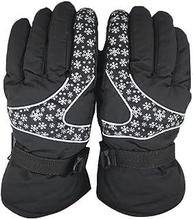 Dreamyth Men Women -30℃ Winter Warm Ski Gloves Waterproof windproof Snowboard Head Sports Gloves Durable
