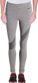 Womens Yoga Fitness Athletic Leggings, Carbon Heather/Black, Large