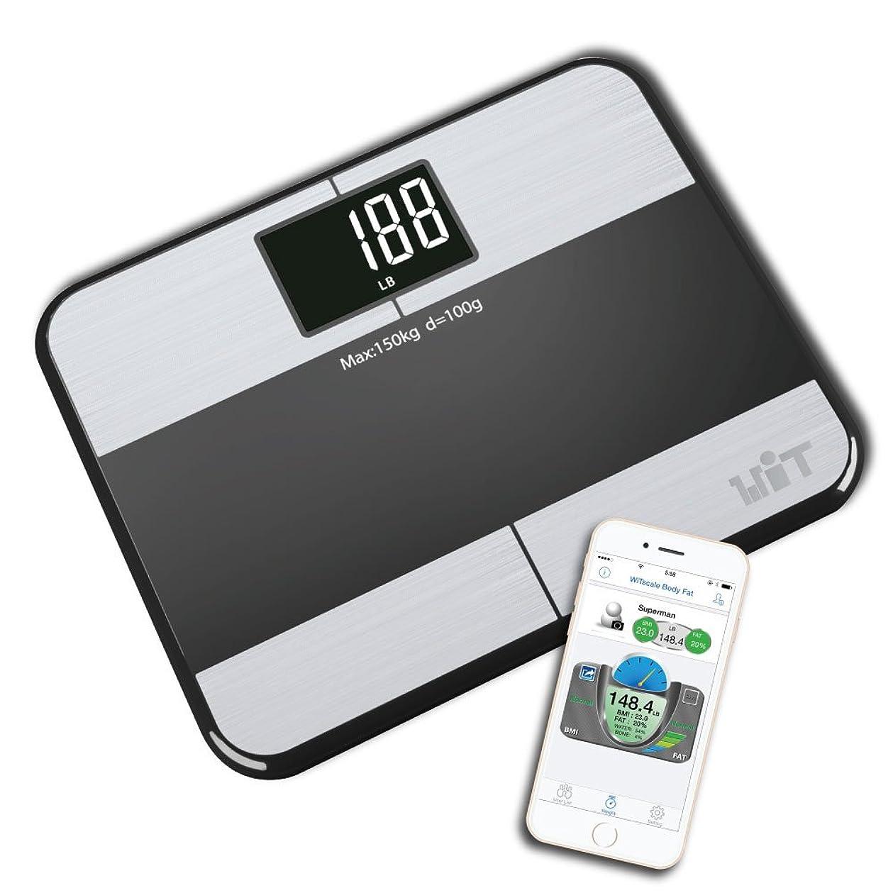 試してみるリボン愛するBluetoothスマートレディワイヤレス体重計 for iPhone and iOS. (並行輸入品)
