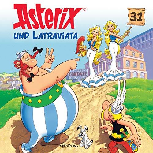 Asterix und Latraviata Titelbild