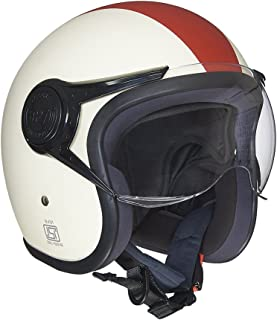 Royal Enfield Maroon Open Face with Visor Helmet Size (L)60 CM (RRGHEI000014)