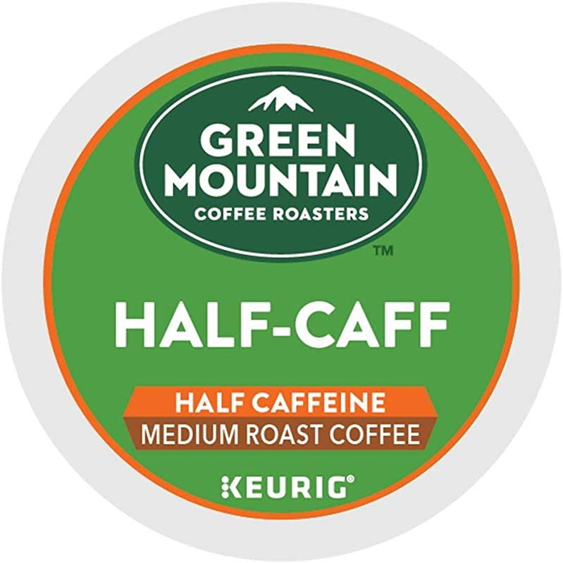 Green Mountain Coffee Roasters Half Caff Single Serve K Cup Pods For Keurig Brewers 96 Count