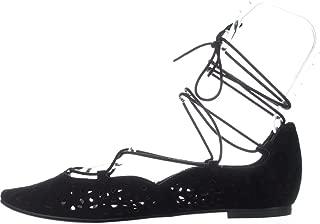 Womens Zavanna Suede Padded Insole Ballet Flats