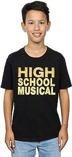 Disney Niños High School Musical The Musical Lights Logo Camiseta