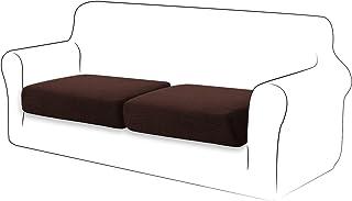 TIANSHU High Stretch Kussenhoes Sofa Kussen Hoes Meubelbeschermer Sofa Seat Cover voor bank 2-plakjes kussenhoezen voor st...