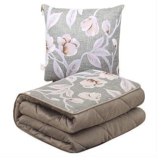 HNWX2 - Colcha de Aire Acondicionado Plegable de Doble Uso para sofá nórdico, Colcha, Oficina, Piscina, Manta de Cintura para Coche