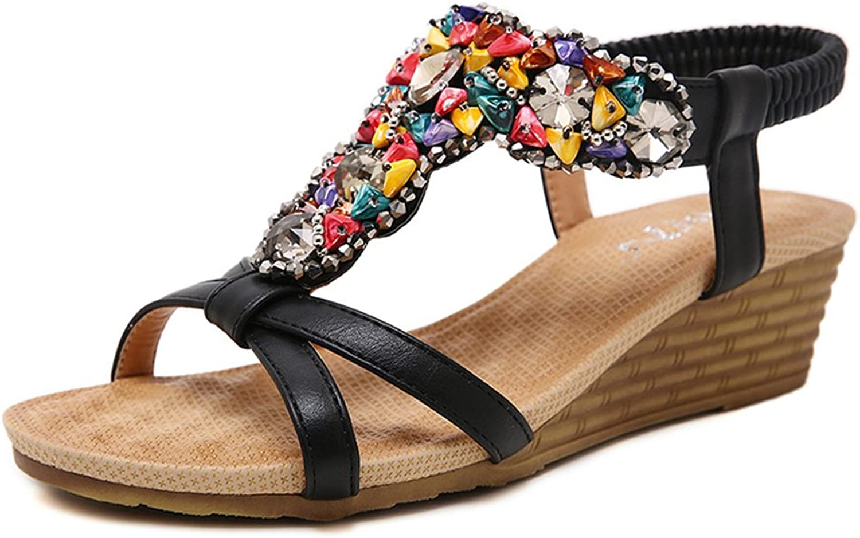 Pit4tk Women shoes Women Summer Beach Slipper Flip Flops Sandals shoes Flat Plus Size