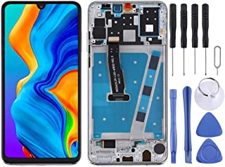 SHUHAN LCD Screen Phone Repair Part LCD Screen and Digitizer Full Assembly with Frame for Huawei P30 Lite Mobile Phone Acc...