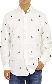 (ポロ ラルフローレン) POLO Ralph Lauren メンズ ボタンダウン スカル刺繍 オックスフォード長袖シャツ クラシックフィット 0103700 [並行輸入品]