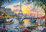 Castorland Tea Time in Paris Puzzle - Rompecabezas (Puzzle rompecabezas, Ciudad, Niños y adultos, Niño/niña, 9 año(s), 470 mm) , color/modelo surtido