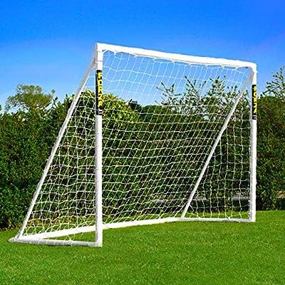 FORZA Net World Sports Backyard Soccer Goals [6 Sizes]   Premium Weatherproof PVC Home Soccer Goal Posts   Soccer Training Equipment   Soccer Goals for Backyard (6ft x 4ft) from Net World Sports