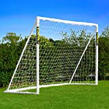 Net World Sports Forza Backyard Soccer Goals [6 Sizes] – Premium Weatherproof PVC Home Soccer Goal...