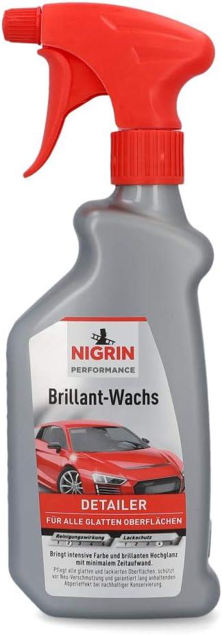 Nigrin 72975 Brillant Wachs Turbo 500 Ml Auto