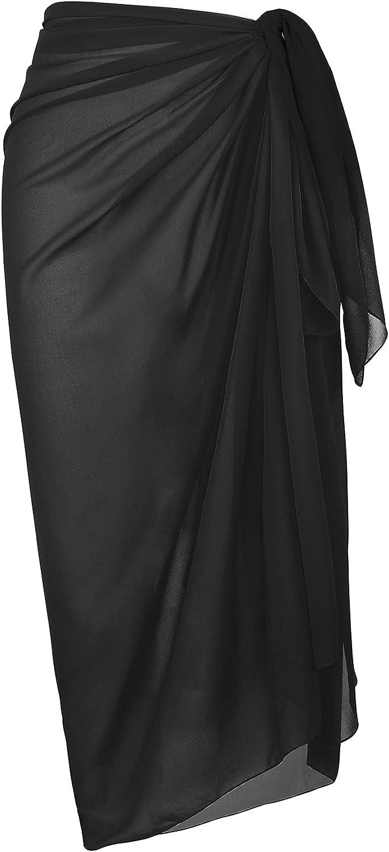 American Trends Sarong Swimsuit Cover Ups for Women Swim Beach Coverups Wrap Skirts Swimwear Bikini Short