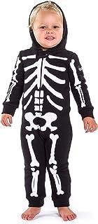 Tipsy Elves Children's Skeleton Halloween Costume - Infant Kids Baby Skeleton Jumpsuit Costume