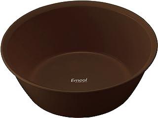 アスベル 湯おけ 「Emeal」 ブラウン 5633