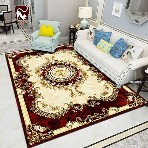 A-carpet Sxf Carpet - Wohnzimmergarnitur Im Europäischen Stil - Sofa Couchtisch - Fashion Bedroom Entry Mat,A,160 * 230cm