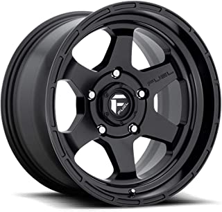 FUEL Shok BD -Matte BLK Wheel with Painted (17 x 9.5 inches /6 x 139 mm, 20 mm Offset)