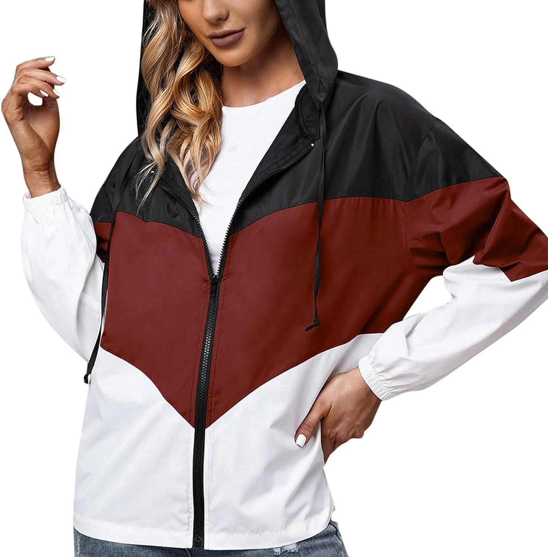 New arrival Women Lightweight Packable Raincoat Outdoor Active Max 48% OFF Waterproof Ra