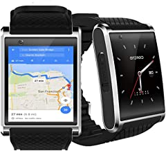 New 2019 1.54-inch OLED Android 5.1 OS SmartWatch (QuadCore CPU + 512mb RAM + Google Play Store w/WiFi)