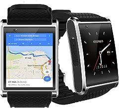 inDigi Unlocked! GSM Android 5.1 Smart Phone Watch WiFi Bluetooth Google Play Store New