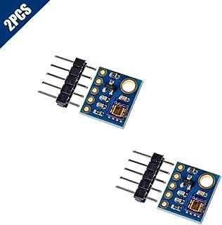 KOOBOOK 2Pcs GY-8511 UV Sensor Module ML8511 UVB UV Rays Sensor Breakout UV Light Sensor Analog Output for Arduino