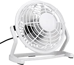 2019 Nuevo Mini Ventilador de Mesa para Mesa de Oficina de Dormitorio para Interior/exteriorOrdenador portátil USB Refrigerador Escritorio (Blanco)