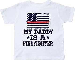Fireman Daddy is a Firefighter Toddler T-Shirt