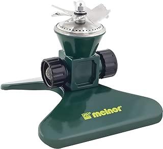 Melnor Revolving Sprinkler; Heavy-Duty Metal Construction; Waters up to 35' Diameter (7800)