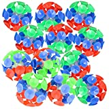 ArtCreativity Suction Ball Toys for Kids, Set of 12, Toss and Stick Balls with Mini Suction Cups, Tossing Toys for Indoor and Outdoor Play, Fun Birthday Party Favors for Boys and Girls