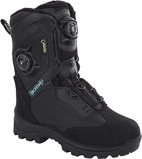 Klim Aurora GTX Boa Women's Snocross Snowmobile Boots - Black/Size 7