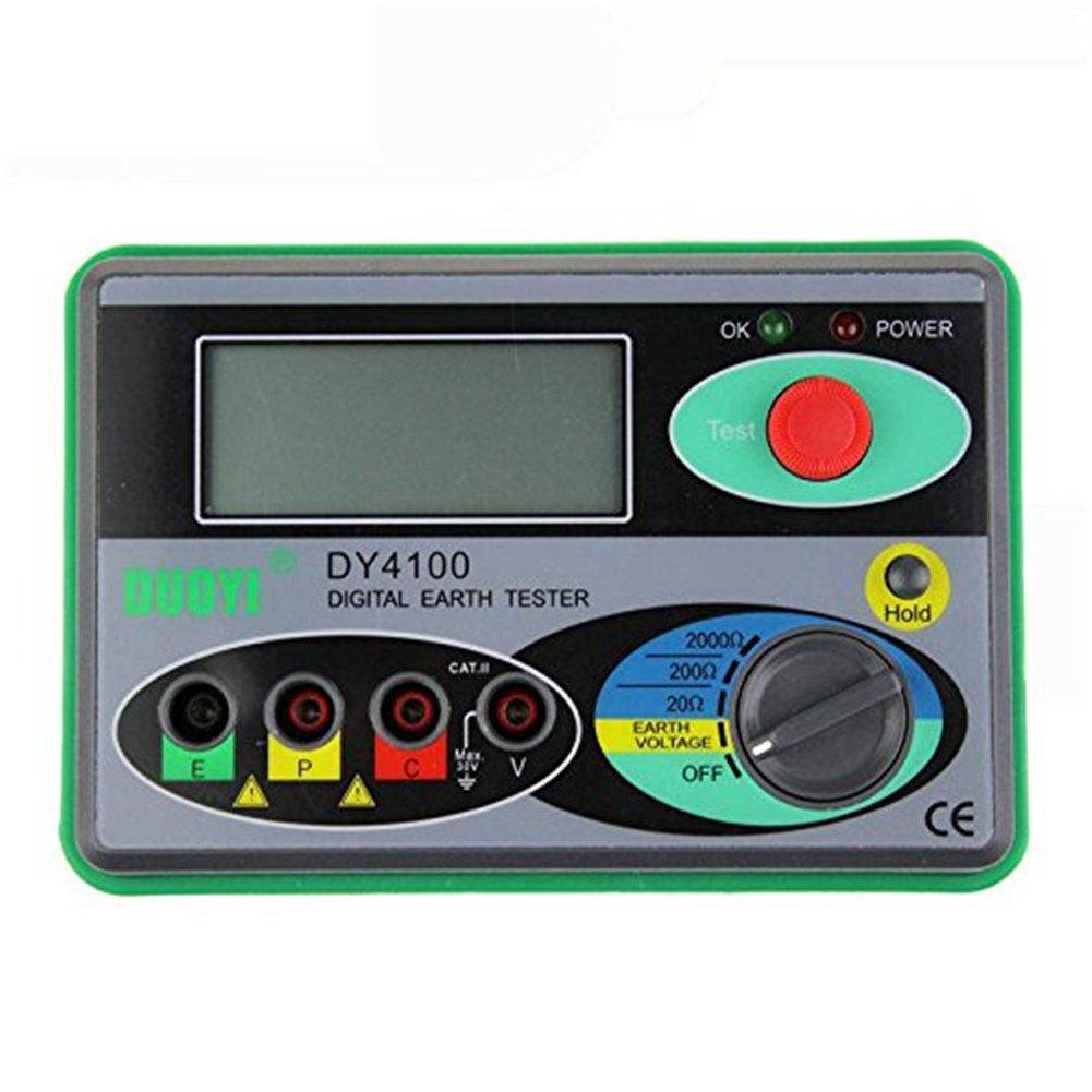 DY4100 Digital tierra resistencia probador medidor digital tierra