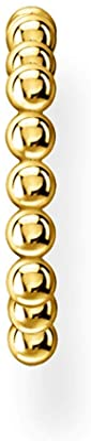 Thomas Sabo Orecchini a sfera da donna, in argento Sterling 925 e Argento, colore: gold, cod. EC0017-413-39