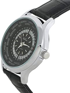 Charisma Casual Watch for MenLeather Band, Analog, C6575