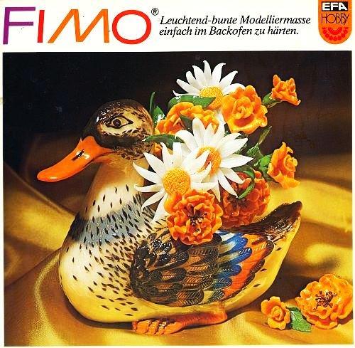 FIMO - Leuchtend-bunte Modelliermasse einfach im Backofen zu härten (Illustrierte Ausgabe / EFA Hobby) [Antique Books, broschiert]