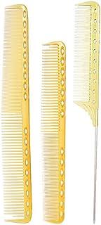 Anself 3Pcs Salon Hair Comb Hairdresser Cut Comb Kit Professional Barber Hairdressing Comb