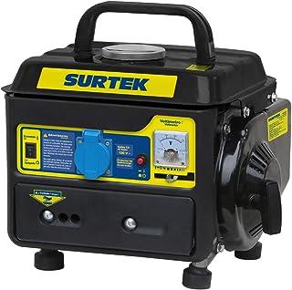 Surtek GG408 Surtek Generador a Gasolina de 120 V, con Cilindrada de 63 CC, Potencia 800 W, Motor con 2 Caballos de Fuerza...