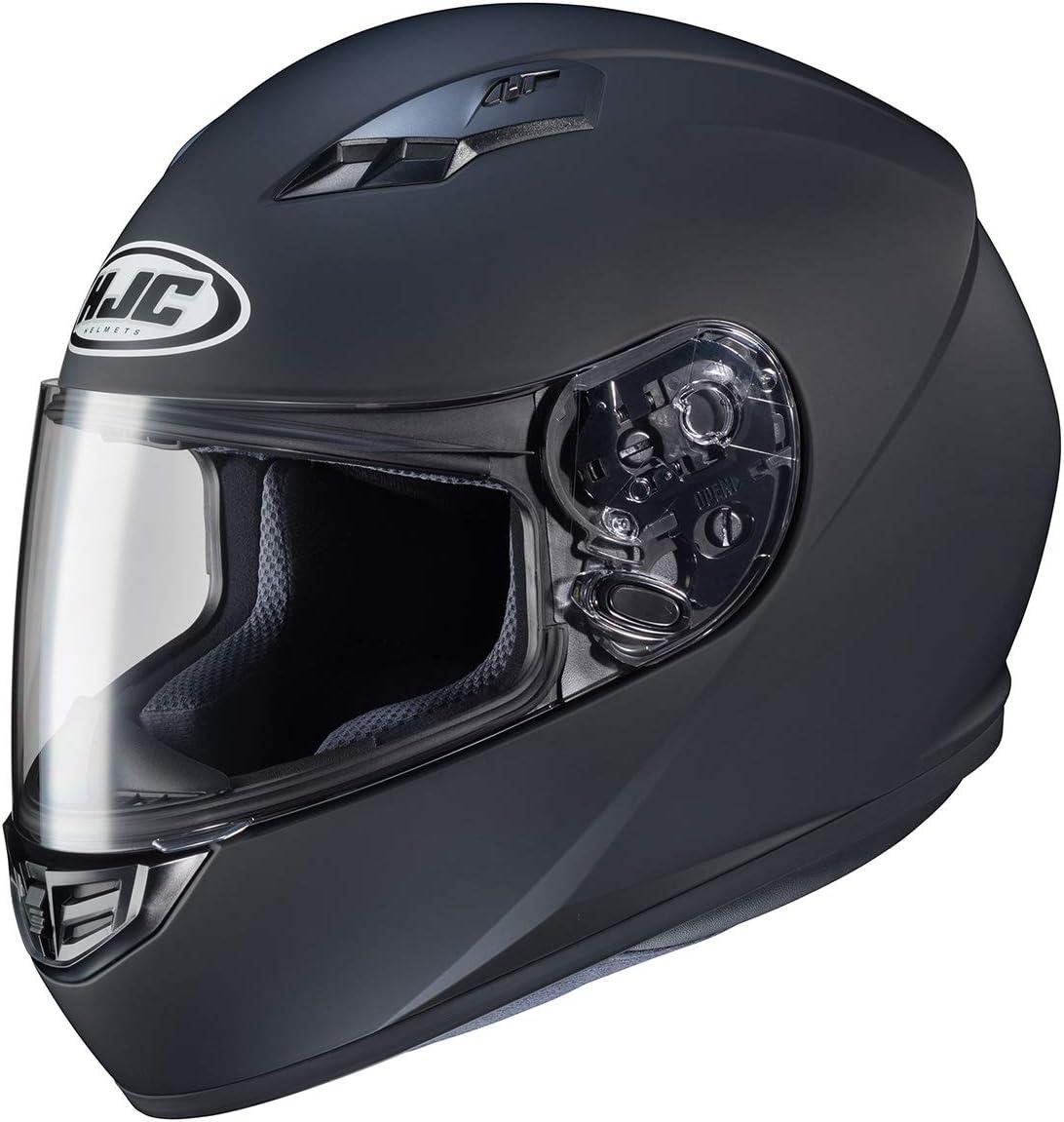 HJC Helmets 130-615 CS-R3 Unisex-Adult Full Face Matte Motorcycle Helmet (Matte Black, X-Large)