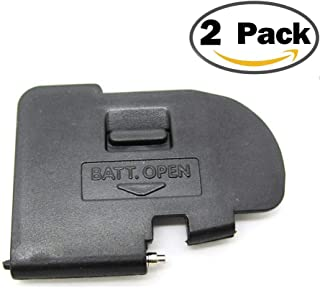 (2Pack) Battery Door Cover Lid Cap Replacement Repair Part Compatible with for Canon 5D Mark II DSLR Digital Camera