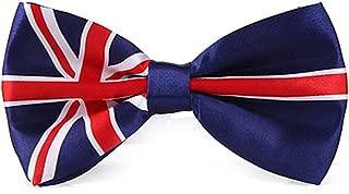 HDE Men's Pre-Tied Adjustable Bow Tie Poly Satin Wedding Tuxedo Formal Event Necktie