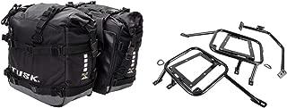 Tusk PILOT heavy duty dual sport adventure saddlebags with Tusk pannier racks - Fits KTM 690 ENDURO 2008–2018