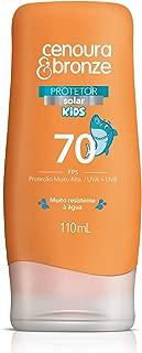 Protetor Solar Kids Fps70, Cenoura e Bronze